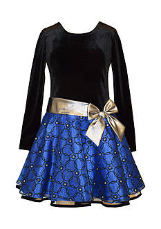 Bonnie Jean Velvet and Lace Dress girls 7-16 Plus