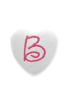 Riviera Monogram Heart Pin