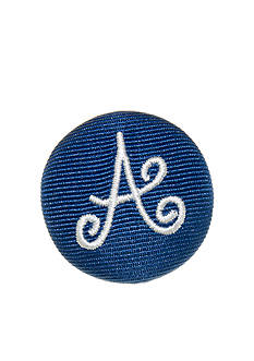 Riviera Round Shaped Monogram Pinnable