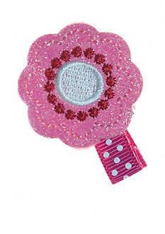 Riviera Glitter Flower Clip