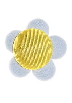 Riviera Daisy Button Pin Clip