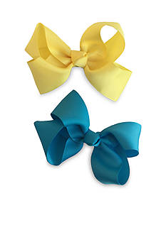 Riviera 2-Pack Solid Grosgrain Bows
