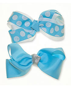 Riviera 2-Pack Solid and Dot Bows