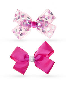 Riviera 2-Pack Heart Bows