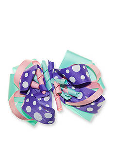 Riviera Loopy Dot Corker Bow