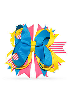 Riviera Solid and Stripe Layered Fun Bow