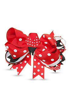 Riviera Ladybug Center Dot Bow