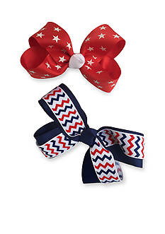 Riviera 2-Pack Star & Chevron Bow