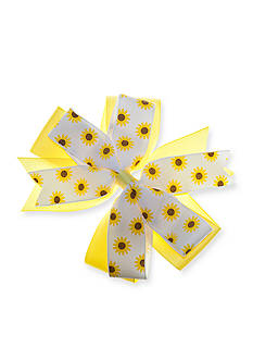 Riviera Sunflower Bow