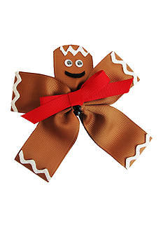 Riviera Gingerbread Man Hair Clip