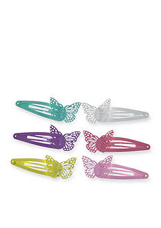 Riviera 6-Piece Butterfly Snap Clip