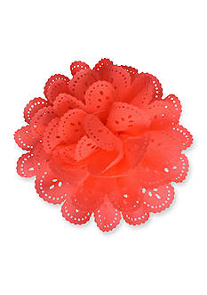 Riviera Scalloped Flower Clip