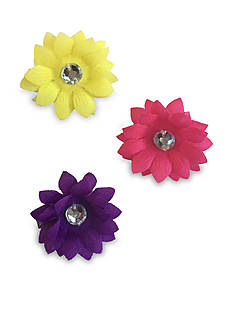 Riviera 3-Pack Flower Clips