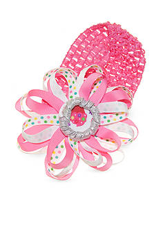 Riviera Loopy Dot Cupcake Bow Head Wrap