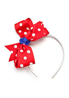 Riviera Dot Bow Headband