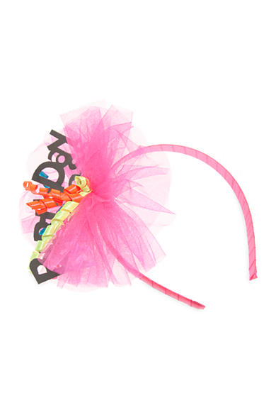 Riviera Birthday Prince Tulle and Corker Party Headband