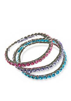 Riviera 3 Rhinestone Bracelets