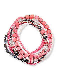 Riviera 8-Piece Multi Bead Bracelet Set