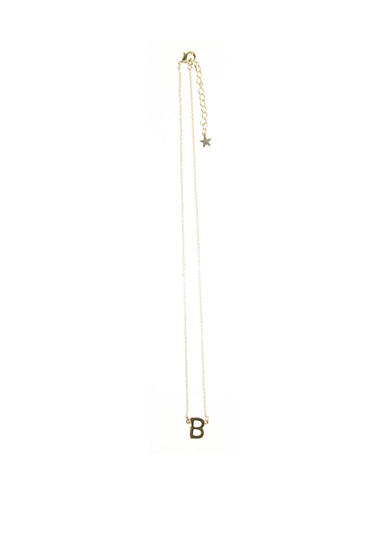 Riviera 'B' Initial Necklace