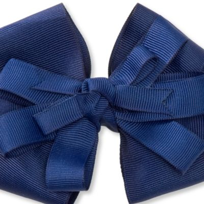 Multi Girls Clothing 7-16: Navy/White Riviera Medium Bows Girls