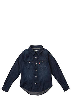 Levi's® Woven Top Girls 4-6X