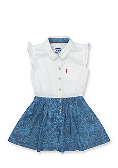 Levi's Beach Picnic Woven Dress Girls 4-6x