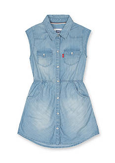 Levi's® Open Road Woven Dress Girls 4-6x