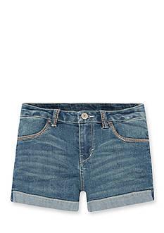 Levi's Thick Stitch Shorty Short Girls 4-6x