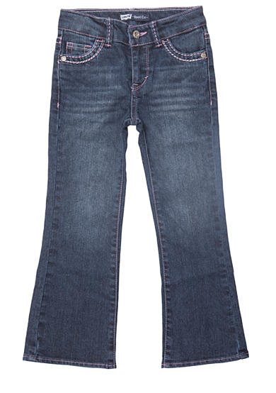Levi's® Boot Cut Denim Blue Jeans For Girls 4-6x
