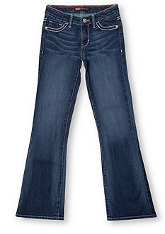 Levi's® Boot Cut Denim Blue Jeans in Slim Sizes For Girls 7-16