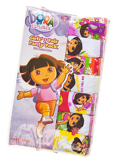 Nickelodeon™ 7-Pack Dora Panty Girls 4-8