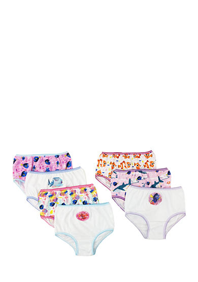 Handcraft 7-Pack Finding Dory Underwear Toddler Girls