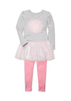 Flapdoodles Tutu Cute Dress Set Girls 4-6X
