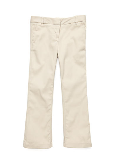 IZOD Uniform Stretch Twill Pants Girls 4-6x