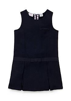 IZOD Uniform Jumper with Bow Girls 4-6x