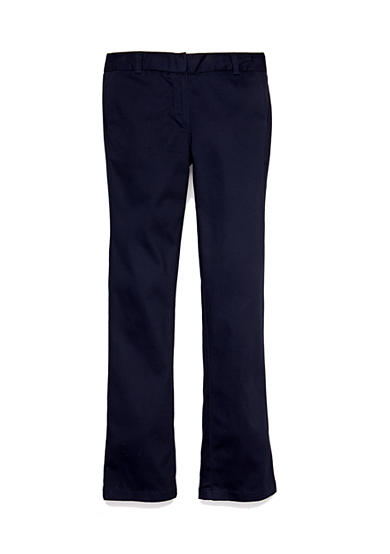 IZOD Uniform Pants Girls 7-16 Plus