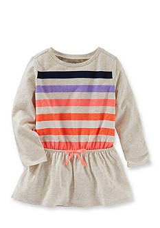 OshKosh B'gosh® Long Sleeve Multi Striped Tunic Girls 4-6x