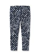 OshKosh B'gosh® Navy Heart Print Leggings