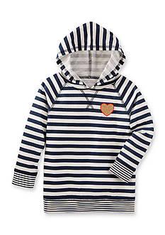 OshKosh B'gosh TLC Striped Hooded Tunic Girls 4-6X