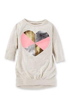 OshKosh B'gosh Long Sleeve Heart Tunic Girls 4-6x