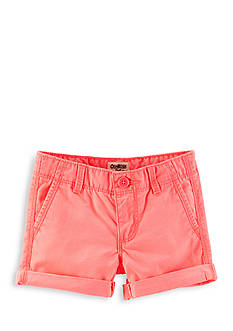 OshKosh B'gosh Twill Roll-Cuff Shorts Girls 4-6x