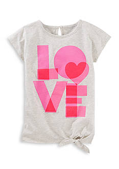 OshKosh B'gosh 'Love' Tee Girls 4-6x