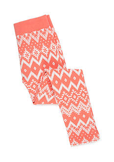 Red Camel Fleece Print Legging Girls 7-16