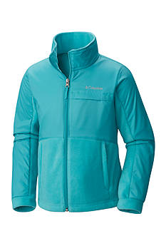 Columbia Overlays Fleece Zip Up Jacket Girls 7-16