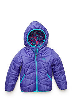 Pacific Trail Reversible Puffer Coat Girls 4-6x