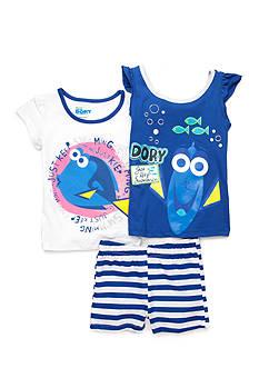 Disney Pixar Dory 'Just Keep Swimming' 3-Piece Set Girls 4-6x