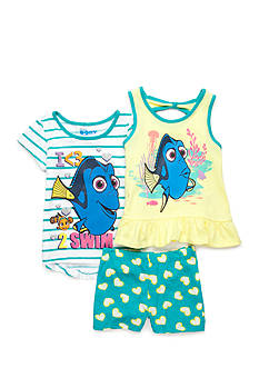 Disney Pixar Dory Heart 3-Piece Set Girls 4-6x