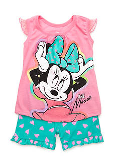Disney Minnie Mouse Hearts 2-Piece Set Girls 5-6x