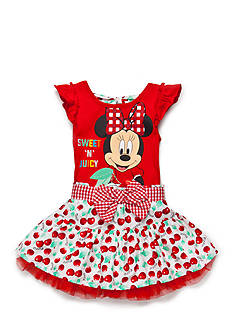 Disney® 2-Piece Minnie Mouse® 'Sweet N Juicy' Top and Cherry Scooter Set Girls 4-6x