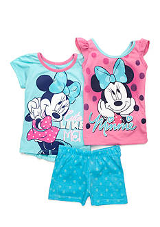 Disney Minnie Mouse Polka Dots 3-Piece Set Girls 4-6x